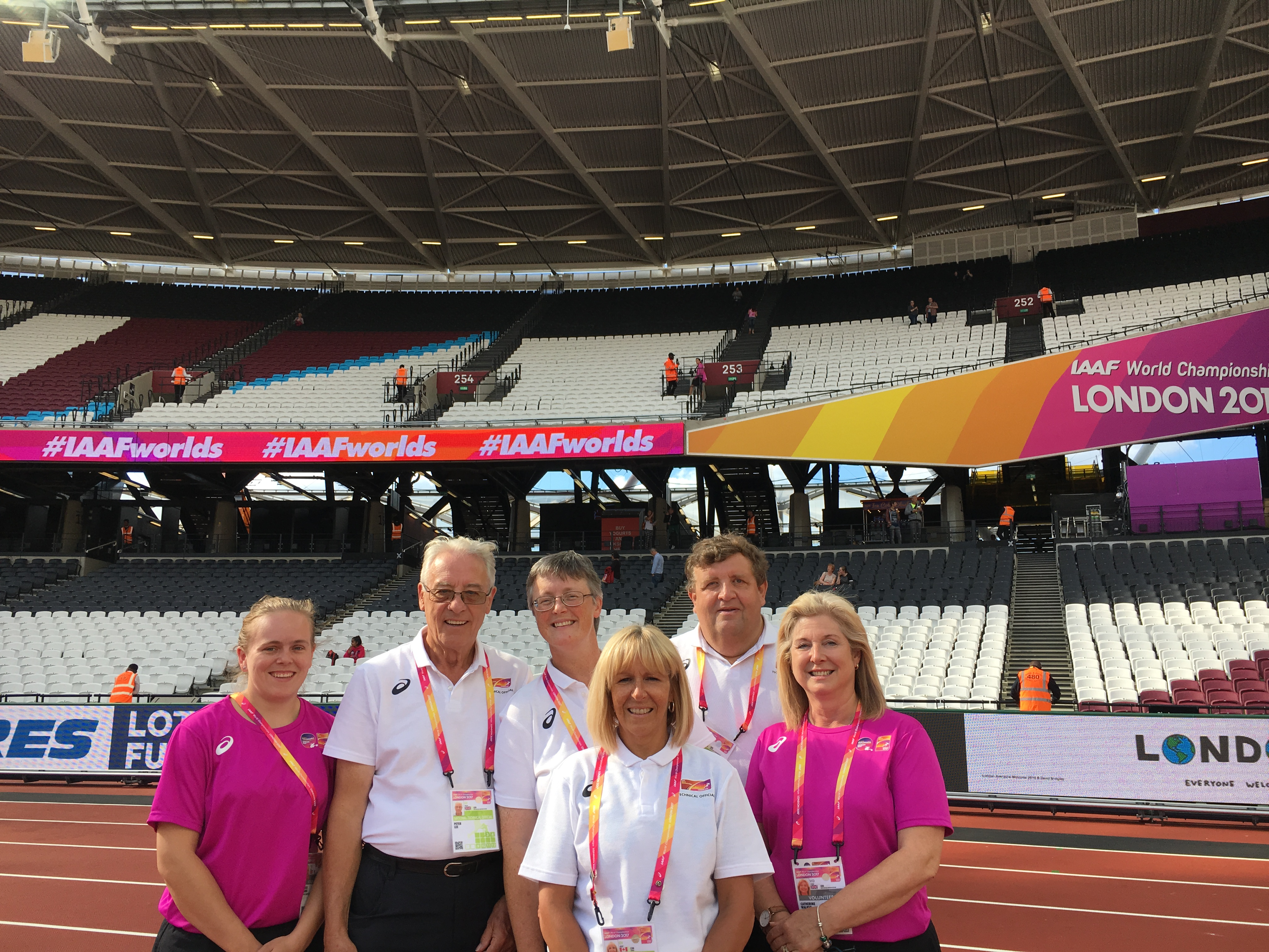 Herts Officials at London 2017